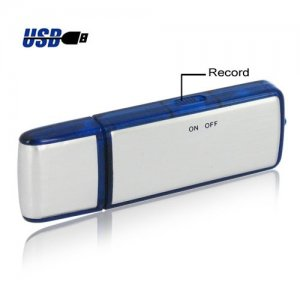 2GB USB Flash Drive with Recording Function and Indicator Light